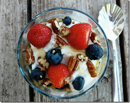 yogurt fruit nuts