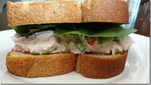 Hearty Tuna sandwich