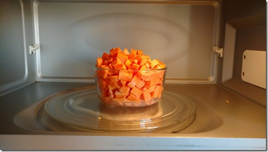 sweet potatoes microwave