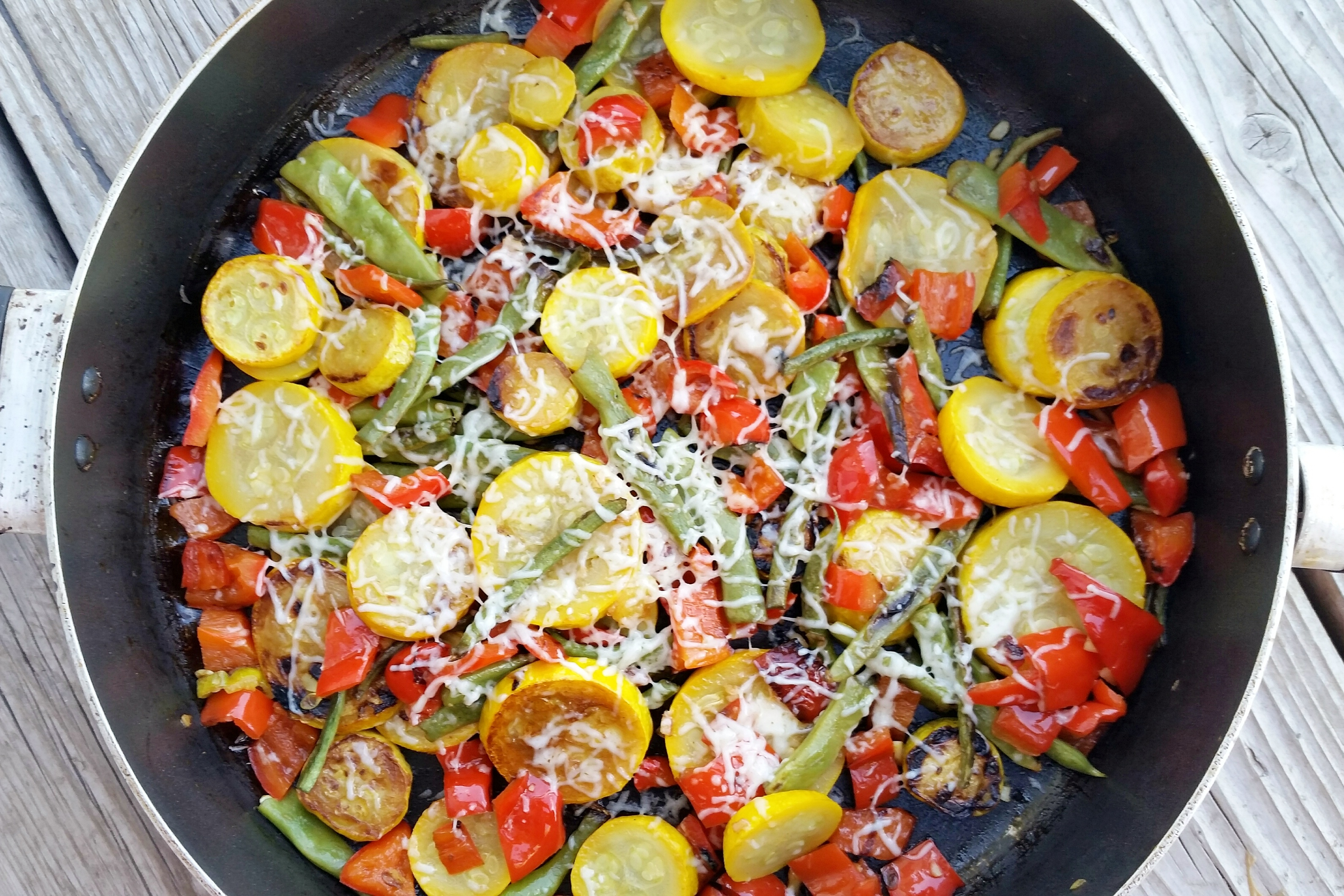 how to prepare sauteed vegetables