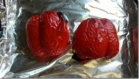 Red Pepper roasted
