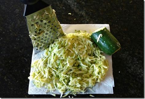 Zucchini shred