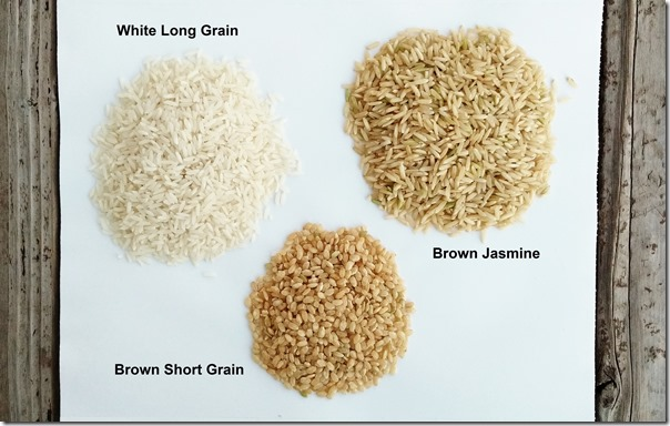 White or brown rice 3
